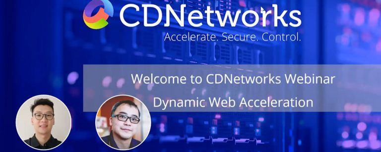 Dynamic Web Acceleration Webinar